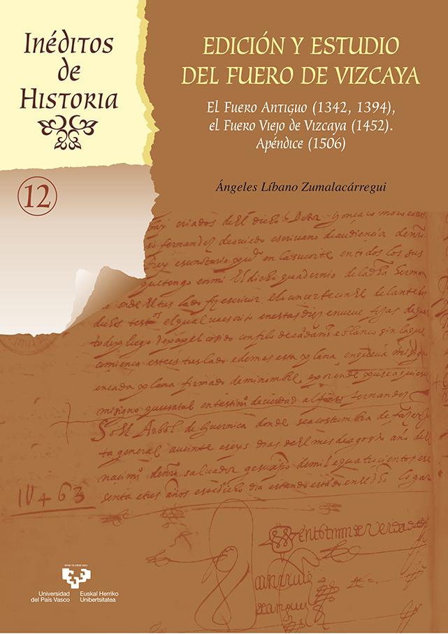 Edición y estudio del Fuero de Vizcaya