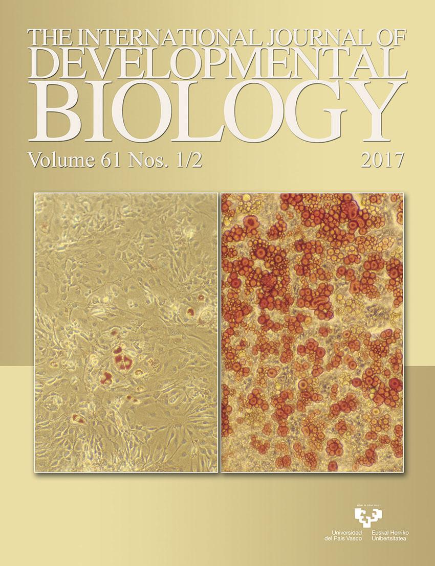 61.1/2. The International Journal of Developmental Biology